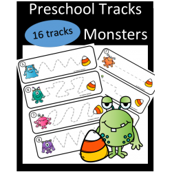 Preschool Tracks - Monsters