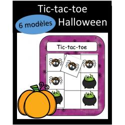 Tic-tac-toe - Halloween