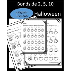 Bonds de 2, 5, 10 - Halloween
