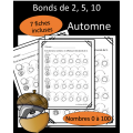 Bonds de 2,5,10 - Automne