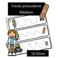 Tracés préscolaires - Médecin