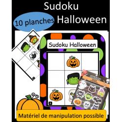 Sudoku 9 cases - Halloween