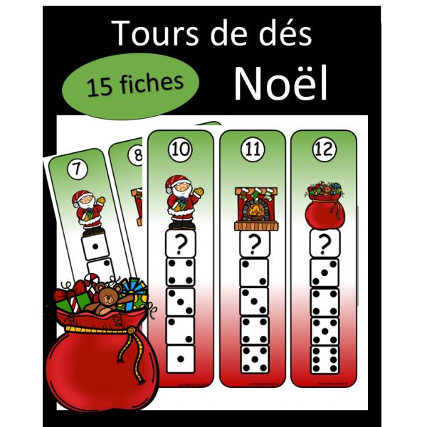 Tours de dés - Noel