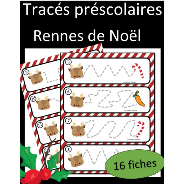 Tracés préscolaires - Rennes