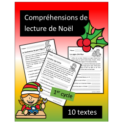 10 petites lectures - Noel