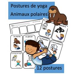 Yoga - Animaux polaires