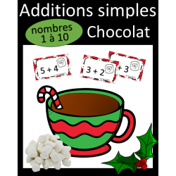 Additions simples - Chocolat Chaud