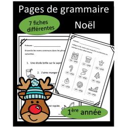 Grammaire - Noel
