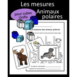 Mesures - Animaux polaires