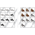 Tic-tac-toe - Animaux polaires