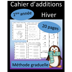 Cahier d'additions - Hiver