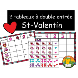 Tableaux - St-Valentin