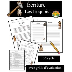 Écriture - Les Iroquois