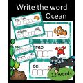 Write the word - Ocean