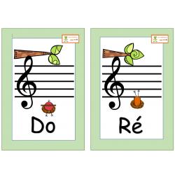 Notes de musique - Rondes