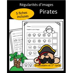 Régularités d'images - Pirates