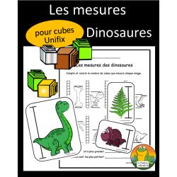 Mesures - Dinosaures