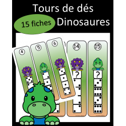 Tours de dés - Dinosaures