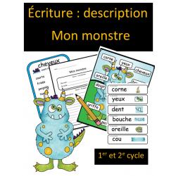 Écriture descriptive - Monstre