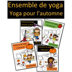 Ensemble de yoga - Yoga pour l'automne