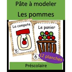 Pâte à modeler - Pommes