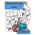 Ensemble de yoga - Les 4 saisons