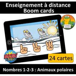 Nombres 1-2-3 - Animaux polaires