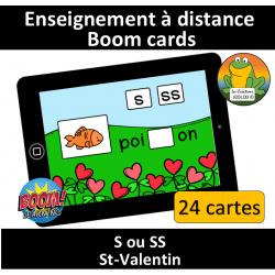 S ou SS - St-Valentin