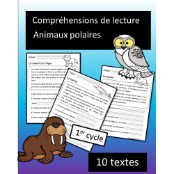 10 petites lectures - Animaux polaires