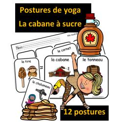 Postures de yoga - La cabane à sucre