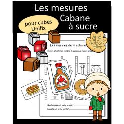 Mesures - Cabane à sucre