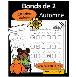 Bonds de 2. - 100 à 200 - Automne
