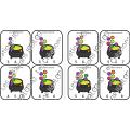 Cartes à pince - 0 à 10 - Bouillon de sorcière