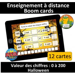 Valeur des chiffres - 0 à 100 - Halloween (BC)