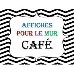 Affiches pour la méthode CAFÉ