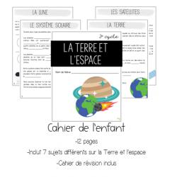 Dossier complet sur la Terre et l'espace- 3e cycle