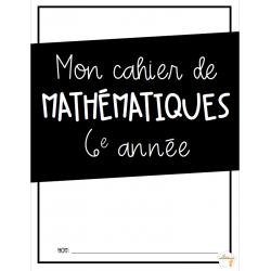 Cahier mathématiques 3e cycle