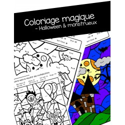 Coloriages effrayants