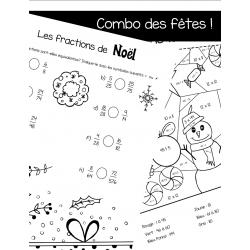 Les fractions de Noël et les calculs de Noël
