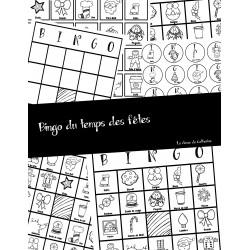 Mon bingo du temps des fêtes
