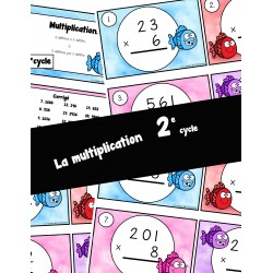 Cartes à tâches - multiplications