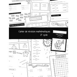 Cahier de révision mathématique 2e cycle