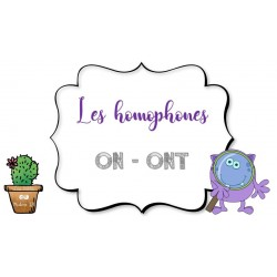 Les homophones ON - ONT
