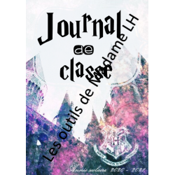 Journal de classe  (180pages)  HARRY POTTER