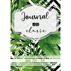 Journal de classe (183 pages) TROPICAL