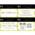 Cartes à tâches - Recomposition de nombres