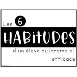 Les 6 habitudes d'un élève efficace