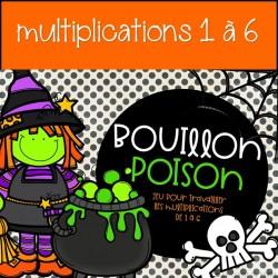 Bouillon Poison - Jeu de maths