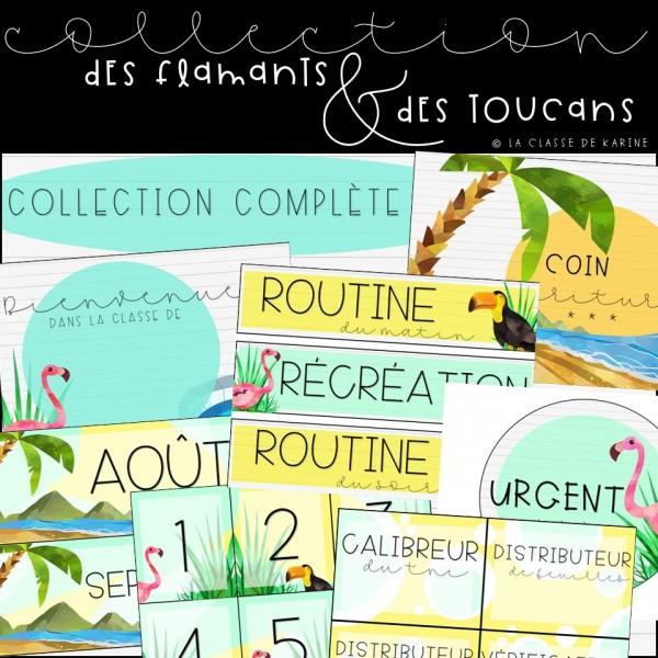 Flamants et toucans - Collection complète