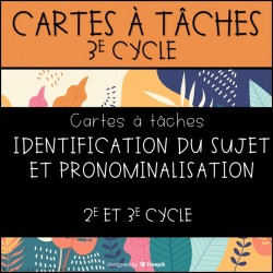 CàT- Identification du sujet